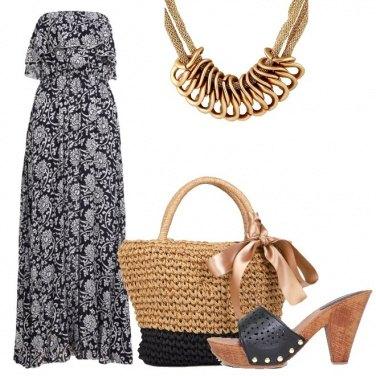 Outfit L\'abito lungo versatile