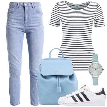 Outfit Una giornata con le righe