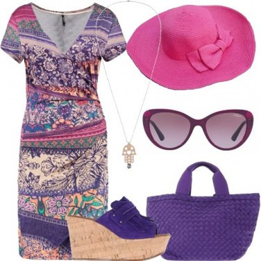 Outfit Giornate colorate