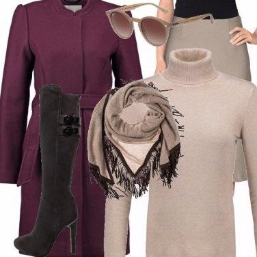 Outfit L\'eleganza del colore neutro