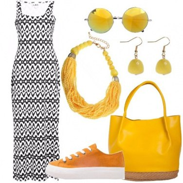 Outfit Il maxiabito