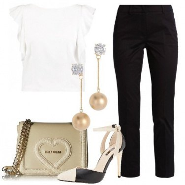 Outfit Semplicemente chic