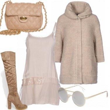 Outfit Calde sfumature di beige