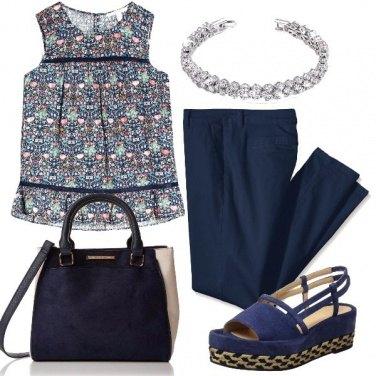 Outfit Blu leggero