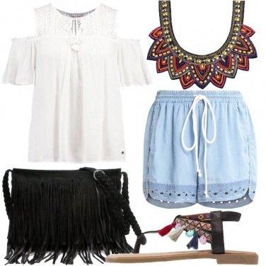 Outfit Frange e nappine