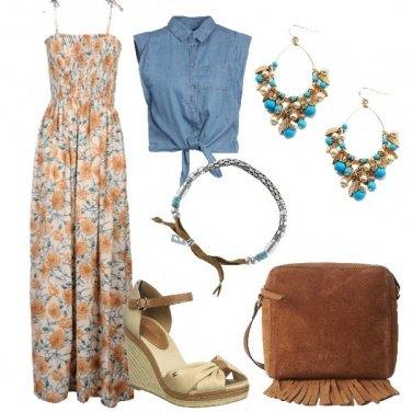 Outfit Un tocco di jeans