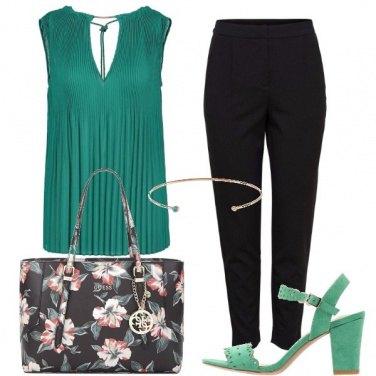 Outfit Un verde brillante
