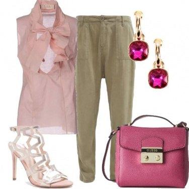 Outfit Fior di fragola