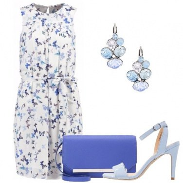 Outfit Le farfalle sul vestito