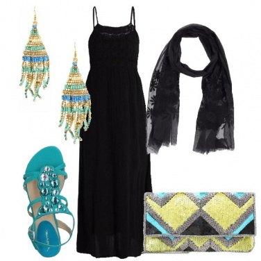 Outfit Il vestito etnico chic