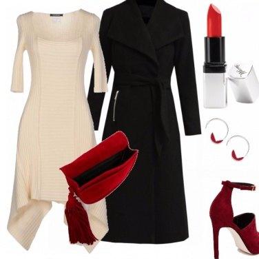 Outfit Il rosso come ci piace