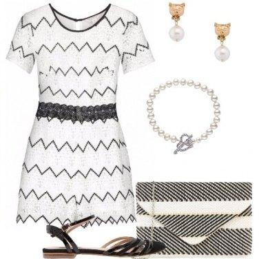 Outfit Gatte cuori e perline