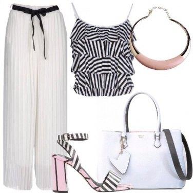 Outfit Pantalone plissè
