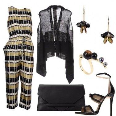 Outfit Ocra e Nero