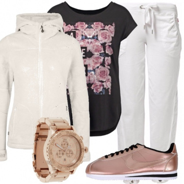 Outfit Le sneakers laminate