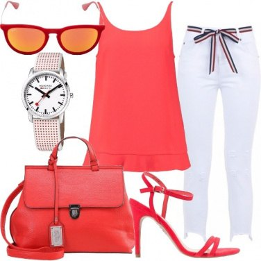 Outfit Oggi rosso