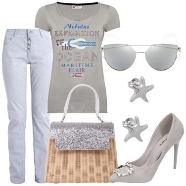 Outfit Stelle marine e nodi