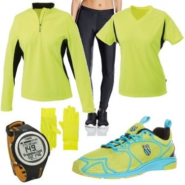 Outfit Yellow runner
