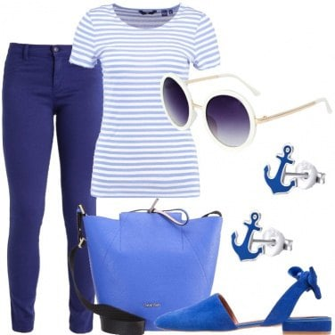 Outfit I colori del mare