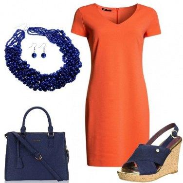 Outfit D\'arancio vestita