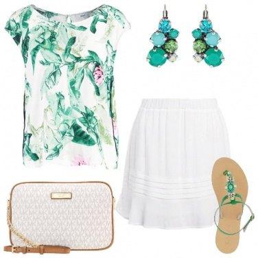 Outfit L\'eleganza non va in vacanza
