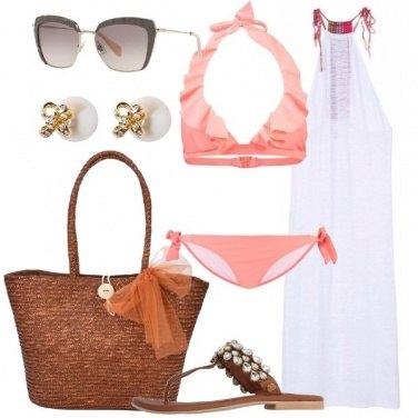 Outfit Bellissima per l\'aperitivo in spiaggia