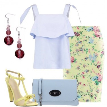 Outfit Delicatezza romantica