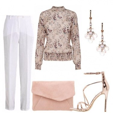Outfit Elegante e delicata
