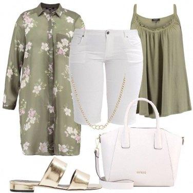 Outfit La camicia lunga