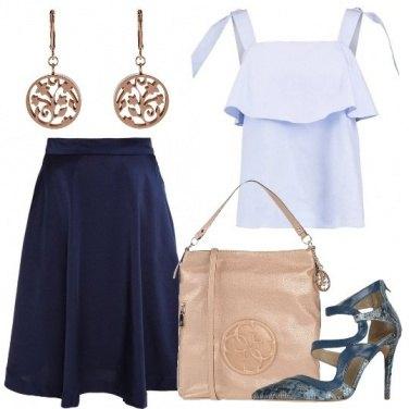Outfit Un look affascinante