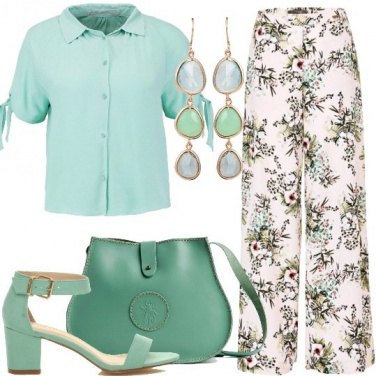 Outfit Cocktail alla menta