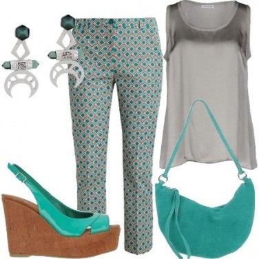 Outfit Verdi geometrie