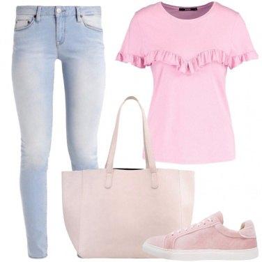 Outfit La borsa grande