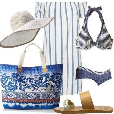 Outfit La maxi borsa reversibile
