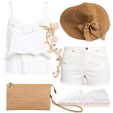 Outfit Fiocco e merletto