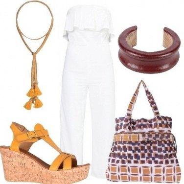 Outfit Piccole geometrie su una maxi borsa