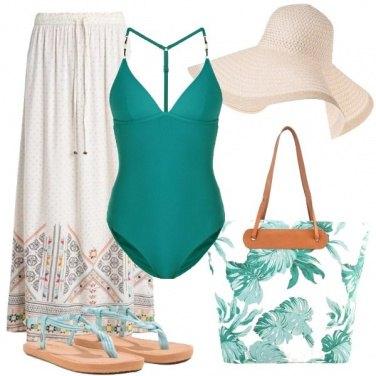 Outfit Al mare come una diva