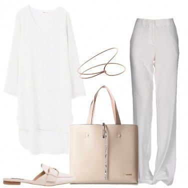 Outfit Pratica maxi shopping bag