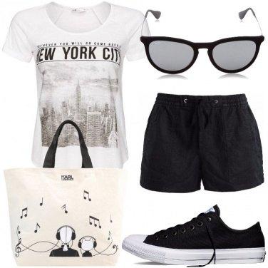 Outfit Maxi bag in città