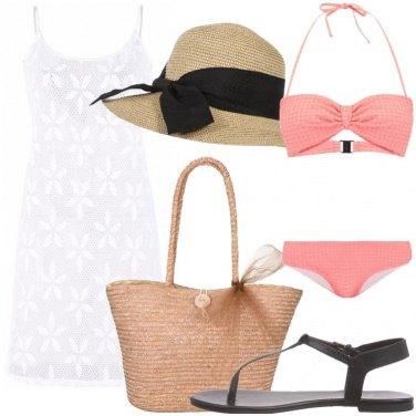 Outfit In spiaggia con i fiocchi