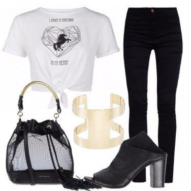 Outfit Unicorno nel cuore