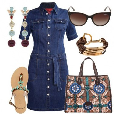 Outfit La borsa capiente