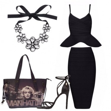 Outfit Come una diva a Manhattan