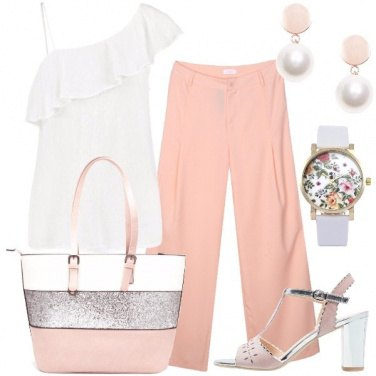 Outfit Rosa bianca