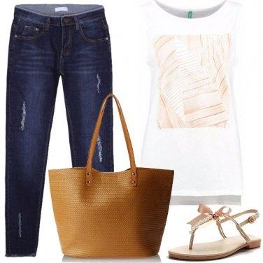 Outfit Fiocchi e perle