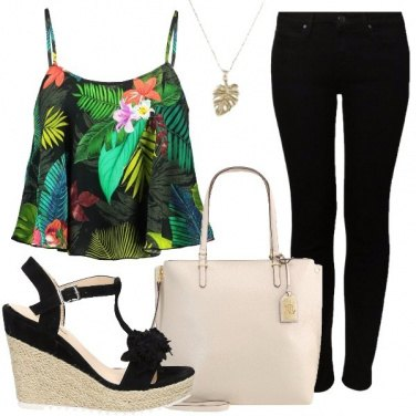 Outfit Fantasia tropicale