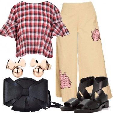Outfit Trendy con i quadretti