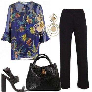 Outfit Nero chic da giorno