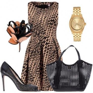 Outfit Maxi borsa maxi stile