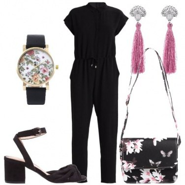 Outfit Jumpsuit total black
